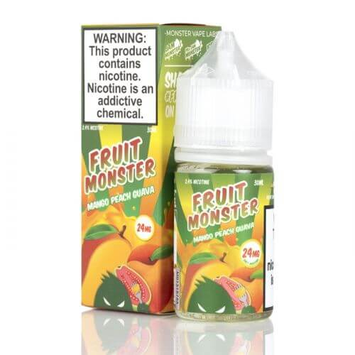 Fruit Monster Salt Mango Peach Guava