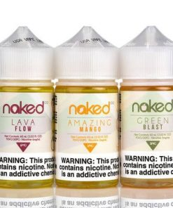 Combo Juices Frutados Naked 100