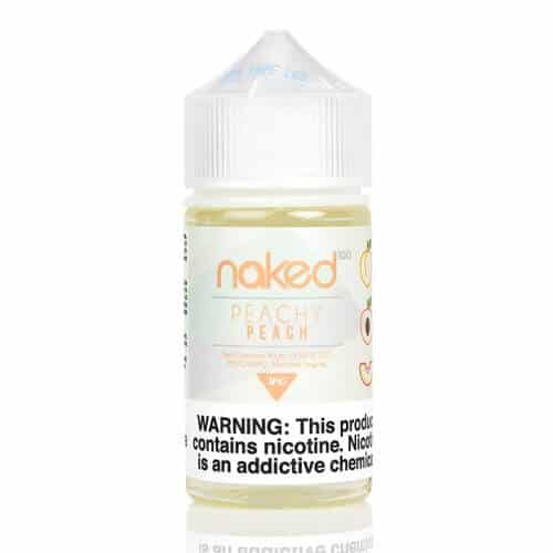 Naked 100 - Peachy Peach 60ml, REAL DISCOUNT WITH VAPE
