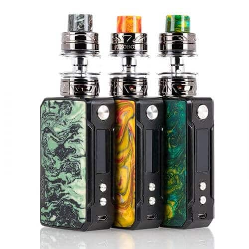 Vape VOOPOO Drag Mini 117W Kit C/ Atomizador UFORCE T2 2