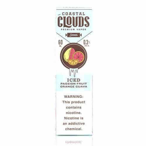 Coastal Clouds Passion Fruit Orange Guava ICED 60ml 2