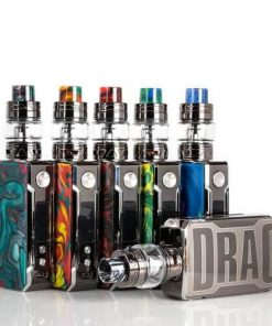 Voopoo DRAG 2 177W TC C/ Kit Atomizador Uforce T2 e Drag 2 Platinum
