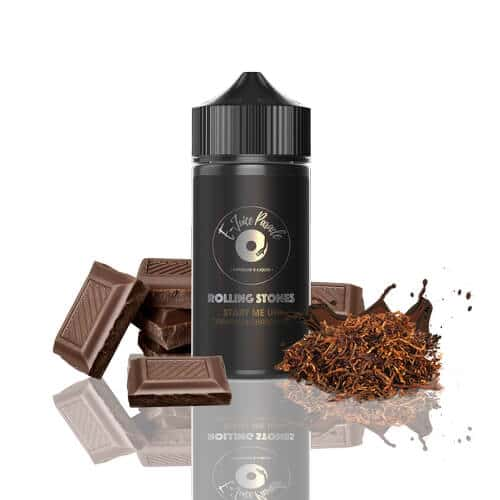 e-juice parade rolling stones start me up tobacco chocolate