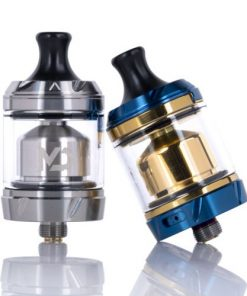 hellvape md rta 24mm stainless e blue gold