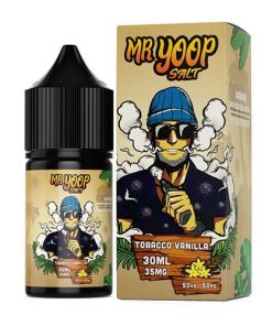 Mr Yoop Salt Tobacco Vanilla