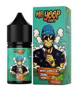 Mr Yoop Salt Vanilla Mint